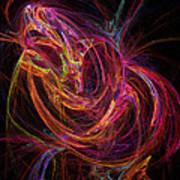 Flowing Energy Art Print