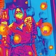 Flu Pandemic, Artwork Art Print