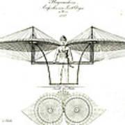 Flugmaschine 1807 Art Print
