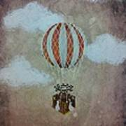 Fly Art Print by Salwa  Najm