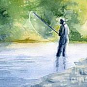 Flyfishing Art Print