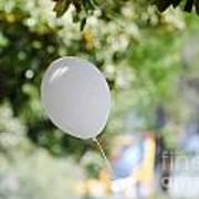 Flying Balloon Art Print