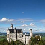 Flying High Over Neuschwanstein Art Print