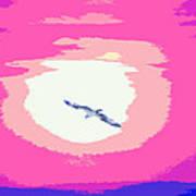 Flying To Heaven Art Print