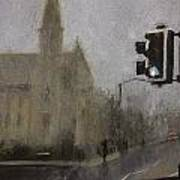 Foggy Herne Bay 1 Art Print