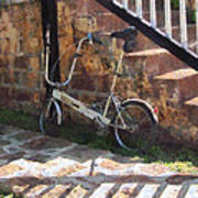 Folding Bicycle Antigua Art Print