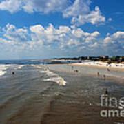 Folly Beach Charleston South Carolina Art Print