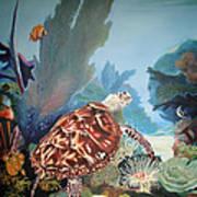 Fondo Marino Art Print by Jose Romero