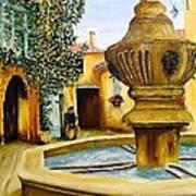 Fontaine De Venasque Art Print