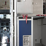 Food Compartment On An Airplane Art Print by Jaak Nilson