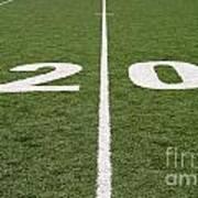 Football Field Twenty Art Print