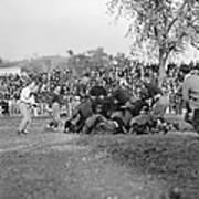 Football Game, 1912 Art Print