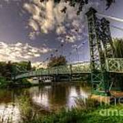Footbridge Over The Severn  Art Print