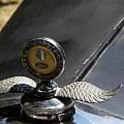Ford A Model Hood Emblem 1931 Art Print