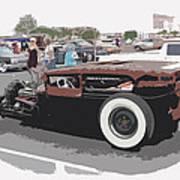 Ford A Sedan Art Print