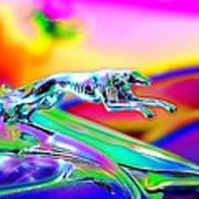Ford Greyhound Art Print