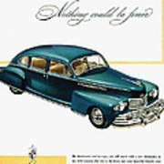 Ford Lincoln Ad, 1946 Art Print