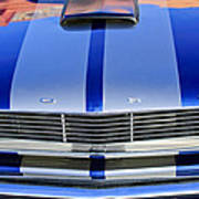Ford Mustang Grille Art Print