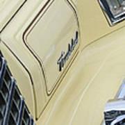 Ford Thunderbird Head Light Art Print