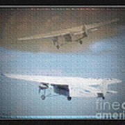 Ford Trimotor Art Print