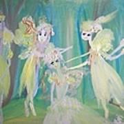 Forest Ballet Art Print