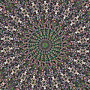 Forest Mandala 2 Art Print
