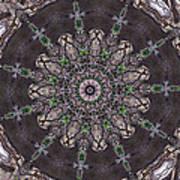 Forest Mandala 3 Art Print