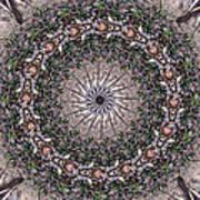 Forest Mandala 5 Art Print