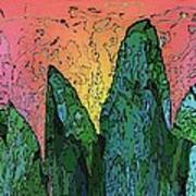 Forests Edge Art Print