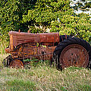 Forgotten Tractor 23 Art Print