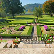 Formal Garden I Art Print by Steven Ainsworth