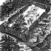 Fort Boonesborough, 1775 Art Print
