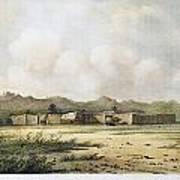 Fort Bridger, Wyoming, 1852 Art Print