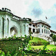 Fort Canning Park Visitor Centre Art Print