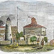 Fort Dearborn, 1830 Art Print