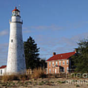 Fort Gratiot Lighthouse Art Print