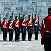 Fort Henry Guards Drill Art Print