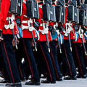 Fort Henry Guards Marching Art Print