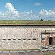 Fort Macon Panorama 1 Art Print