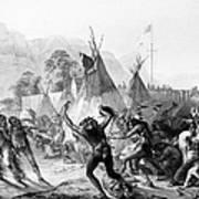 Fort Mckenzie, 1833 Art Print by Granger