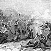 Fort Pillow Massacre, 1864 Art Print