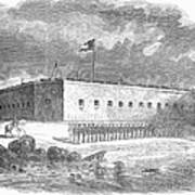 Fort Pulaski, Georgia, 1861 Art Print