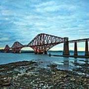 Forth Rail Bridge Art Print