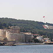 Fortress Canakkale And War Memoriel - Dardanelles Art Print