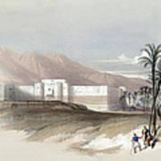 Fortress Of Akabah Arabia Petra 1839 Art Print