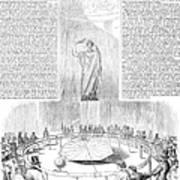 Foucaults Pendulum, 1851 Art Print
