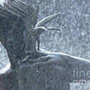 Fountain Of Faith Birdman Art Print