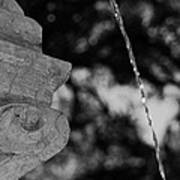 Fountain's Stream Art Print