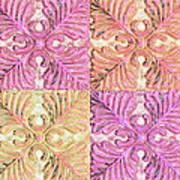 Four Times Four Art Print