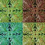 Four Times Four I Art Print